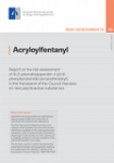 Acryloylfentanyl. Report on the risk assessment of N-(1 phenethylpiperidin-4-yl)-N-phenylacrylamide (acryloylfentanyl) in the framework of the Council Decision on new psychoactive substances