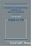 DSM-IV-TR. Diagnostic and statistical manual of mental disorders