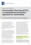 Communities That Care (CTC): a comprehensive prevention approach for communities