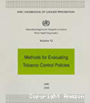 Methods for evaluating tobacco control policies