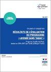 """Résultats de l'évaluation du programme """"Avenir sans Tabac"""". Projet du Souffle 64 (Pau), évalué en 2016-2017 par Santé publique France"""