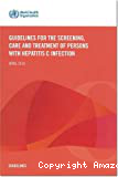 Guidelines for the screening, care and treatment of persons with hepatitis C infection